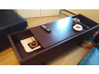Temahome ark coffee table in chocolate finish