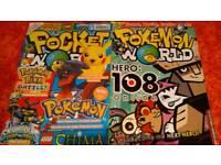 Pocket/pokemon world magazines