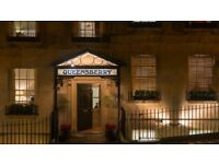 HOTEL PORTER AT RENOWNED BOUTIQUE HOTEL in BATH - £17'000