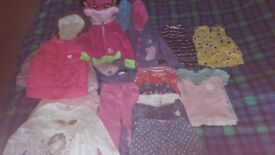 Bundle of girl clothes size 3 to 4 years