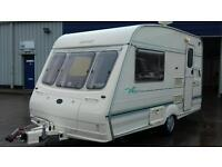 Bailey Ranger 380 / 2 berth Cris reg 1998 motor mover lots of extras no damp