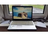 Toshiba equium p200 windows 7 screen size 17 100g hard drive 2g memory comes with charger