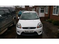 Ford Fiesta ST White - Project Car