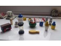 DOLLS HOUSE KITCHEN ITEMS **VERY CHEAP**