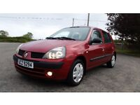 *!*ONLY 51k GENUINE MILES*!* 2003 Renault Clio 1.2 16v Expression **FULL YEARS MOT**