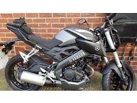 Yamaha mt 125 still new