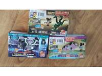 Block Tech Dino and space hero and it's a girls life lego sets