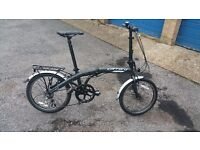Mens/ femals foldiing bike used once very very new unwanted gift BARGAIN