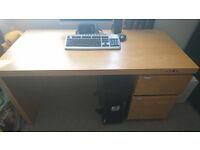 Solid desk office