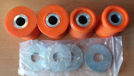 ford mondeo mk3 Rear Subframe Suspension Bushes in Poly