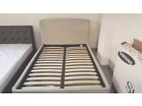 NEW John Lewis Skye Bed Frame, Double, Grey Can Deliver Viewing/Collection Kirkby in Ashfield