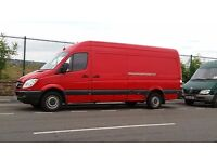 Van with a man available 24/7. Removals/deliveries