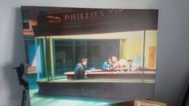 Golden Age Hollywood/Nighthawks Picture - Stretch on Canvas