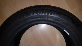 GOODYEAR EFFICIENT GRIP TYRE WITH 8MM TREAD LIKE NEW 235 55 R17 CAR TYRE SUV VW AUDI SEAT TIGUAN Q3