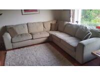 Large corner sofa from House of Fraser