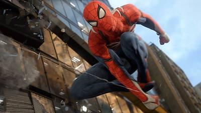 Black Spider Insomniac Spider-Man PS4 Video Game Cosplay Costume Version (Spiderman Kostüme Videos)