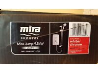 Mira jump 9.5 kw shower kit complete brand new never used