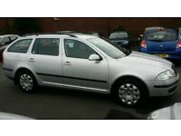 SKODA OCTAVIA TDI 1.9 ESTATE DRIVES GREAT,MOT FEBRUARY 2019,TIMING BELT DONE SERVICE HISTORY