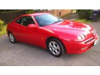 Alfa Romeo GTV 2.0 twin spark in rosso red for sale