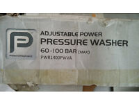 Pressure washer with adjustable power 60-100 bars