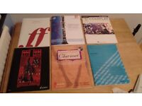 Various clarinet books (like new, all for £20)