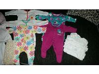 baby girls new born bundle