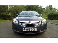 2009 vauxhall insignia 1.8 vvt 16v exclusive top spec & immaculate