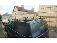 Vw T5 Swb Vanguard roof rack with load roller