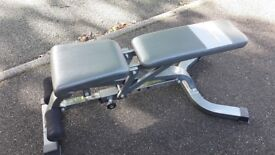 BODYMAX CF328 DELUXE HEAVY DUTY WEIGHTS BENCH - Flat, Incline, Decline