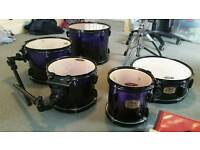 Deep Purpe Pearl Export ELX Drum Kit
