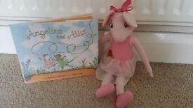 Angelina Ballerina soft toy & story book