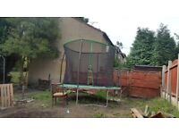 Trampoline 10ft very good condition i sell because too big for my garden.