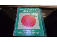 Vintage What's Where in the Apple - An Atlas to the Apple Computer 1981