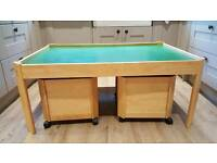 Pintoy Children's Play Table & Toy Storage
