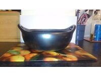 Tierra negra cookware, set of 3, good condition. Collection only.