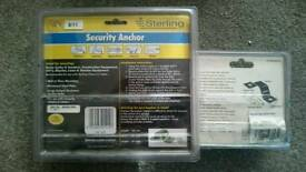 Security ground anchor