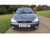 Automatic Ford Focus 1.6 Zetec Petrol 2003 Low Mileage Long MOT