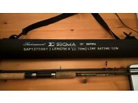 Shakespeare Sigma carbon spin rod 9ft(270cm) 10-30g 3pc