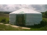 19 foot; diam. yurt for sale dismantled , available now