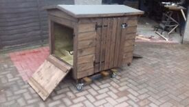 Chicken coop for Christmas !
