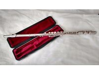 Yamaha 311 Student flute with solid silver head joint