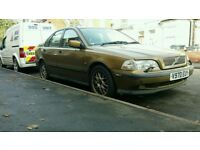 Volvo s40, fsh, manual, good condition