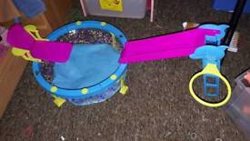 Barbie swimming pool slide chair