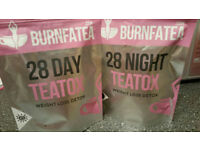 Burnfatea day & night teatox set