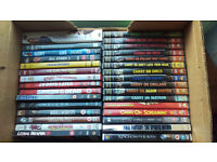 Mix of 31 dvd's / Includes Action and Carry on films