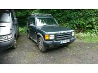 Landrover discovery 2 td5 automatic