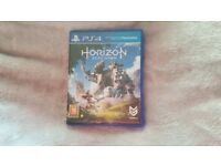 Horizon zero dawn PS4 Like new condition