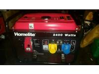 Homelite 2.4 kw petrol generator price drop