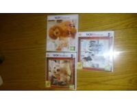 Nintendo dogs + cats 3ds games