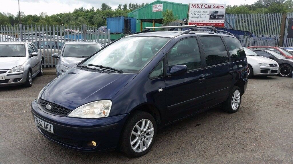 2002 52 reg ford galaxy 1 9 tdi automatic for 995 mot. Black Bedroom Furniture Sets. Home Design Ideas